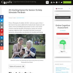 45+ Exciting Games For Seniors To Help Stimulate The Brain - CogniFit