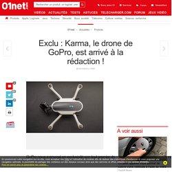 Exclu : Karma, le drone de GoPro, est arrivé à la rédaction !