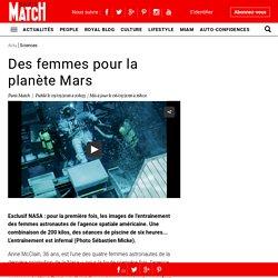 NASA exclusif. Des femmes astronautes sur la planète Mars