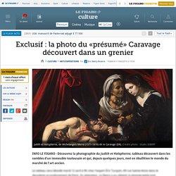 Exclusif : la photo du «présumé» Caravage découvert dans un grenier
