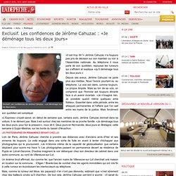 Exclusif. Les confidences de Jérôme Cahuzac : «Je déménage tous les deux jours» - 11/04/2013