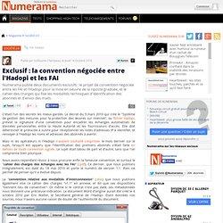 Exclusif : la convention négociée entre l'Hadopi et les FAI