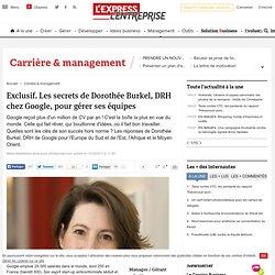 Exclusif. Les secrets de Dorothée Burkel, DRH chez Google, pour gérer ses équipes