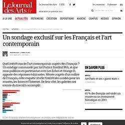 Un sondage exclusif sur les Français et l'art contemporain - 16 mars 2010 - Le Journal des Arts - n° 321