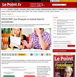 EXCLUSIF. Les Français se noient dans le pessimisme