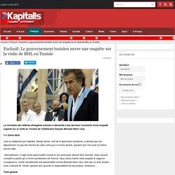 "BHL déclaré : ""persona non grata"" en Tunisie."