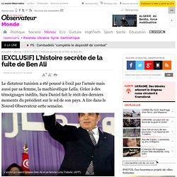 [EXCLUSIF] L'histoire secrète de la fuite de Ben Ali - Monde