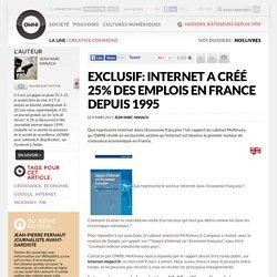 Exclusif: Internet a créé 25% des emplois en France depuis 1995 » Article » OWNI, Digital Journalism