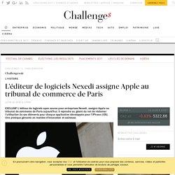 EXCLUSIF L'éditeur français de logiciels Nexedi assigne Apple en justice - Challenges.fr
