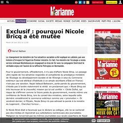 Exclusif : pourquoi Nicole Bricq a été mutée