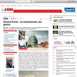 Exclusif JDD : les premières images des futures gares du Grand Paris