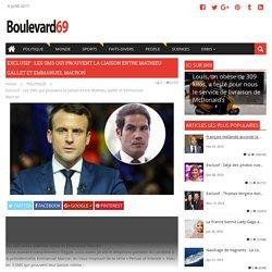 Exclusif : Les SMS qui prouvent la liaison entre Mathieu Gallet et Emmanuel Macron