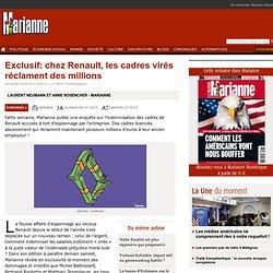 Exclusif: chez Renault, les cadres virés réclament des millions