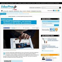 Exclusif. E-réputation : un nouveau classement des écoles de commerce - Enquête sur Educpros