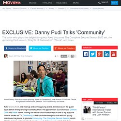 Danny Pudi Talks Community