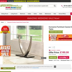 Exclusive Furniture Cassia
