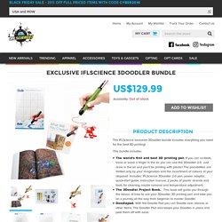 IFLS 3Doodler Pen - 3D Printing Pen 2.0