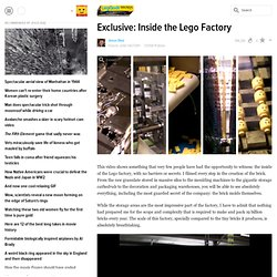 Exclusive: Inside the Lego Factory