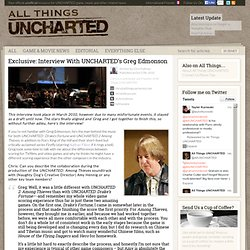 Exclusive: Interview With UNCHARTED's Greg Edmonson