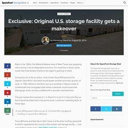 Exclusive: Original U.S. storage facility gets a makeover