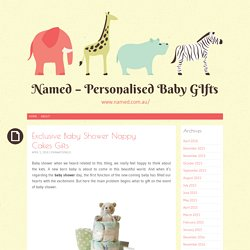 Exclusive Baby Shower Nappy Cakes Gifts