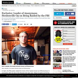 Leader of Anonymous Steubenville Op on Being Raided by the FBI