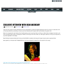 Exclusive interview with Bear McCreary
