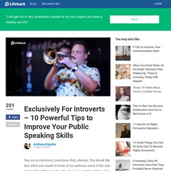 Exclusively For Introverts - 10 Powerful Tips to Improve Your Public Speaking Skills