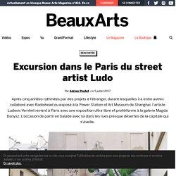 Excursion dans le Paris du street artist Ludo