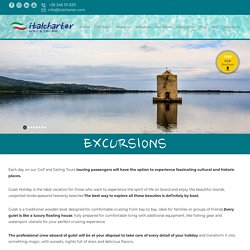 Enjoyable Excursions with Italcharter