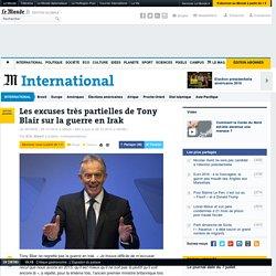 Les excuses très partielles de Tony Blair sur la guerre en Irak
