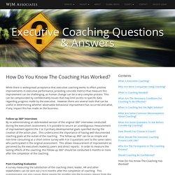 ROI Executive Coaching