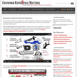Executive's Guide to Customer Experience
