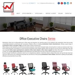Executive Office Chairs Manufacturer, Supplier, Dealers