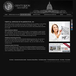 Executive Virtual Offices Washington DC