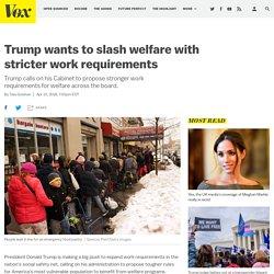 Trump's executive order on welfare reform, explained