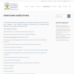 Fonctions exécutives – Les trésors en éducation spécialisée