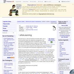 eXeLearning - Création de cours et exerciseurs