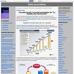 """Fiscalité locale: le travail exemplaire de """"La Gazette des Communes"""" - Data journalism"""