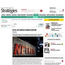 Netflix, une stratégie de marque exemplaire
