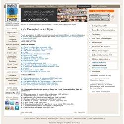 Exemplaires en ligne
