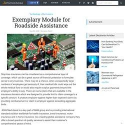 Exemplary Module for Roadside Assistance