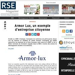 Armor Lux, un exemple d'entreprise citoyenne