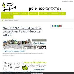 Exemple de produit eco-conçu - Pôle Eco conception