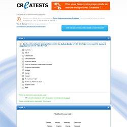 Etude Test de nom de marque (exemple de questionnaire)