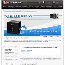 Exemple de réseau utilisant un NAS