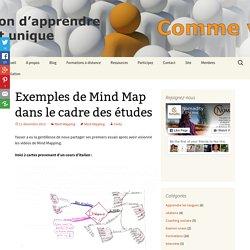 Exemples de Mind Map dans le cadre des études