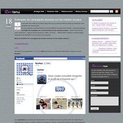 Exemples de campagnes réussies sur les réseaux sociaux