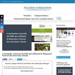 4 exemples concrets de PME qui utilisent le blog pour trouver de nouveaux clients