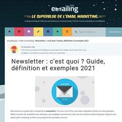 Guide, exemples & définition Newsletter - Emailing.biz